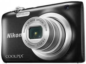 Купить Nikon Coolpix  A100 Black 20.1 MPx