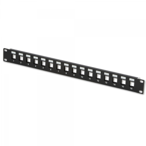 Купить 16 port BLANK patch panel, 1U 19