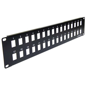 Купить 32 port BLANK patch panel, 2U 19