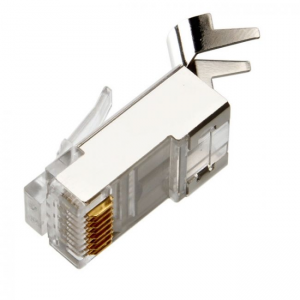 Купить RJ45 Modular Plug, Cat.6, LY-US010-30U, Long Type, 30u Gold plated, 100pcs/bag