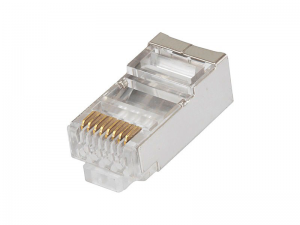 Купить RJ45 Modular Plug, Cat.5E, Long Type, 30u Gold plated, 100pcs/bag