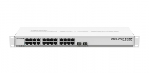 Купить Mikrotik Cloud Smart Switch CSS326-24G-2S+RM