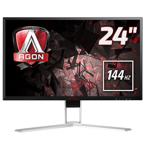 "Купить AOC AG241QX	23.8"" AGON LED AG241QX Black (1ms, 50M:1, 350cd, 2560x1440 144Hz, Display Port, HDMI, DVI, Speakers, Height Adjustment, USB 3.0 x 4, VESA)"
