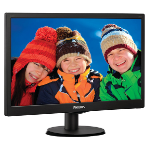 "Купить 203V5LSB26	19.5"" PHILIPS LED 203V5LSB26 Black (5ms, 10M:1, 200cd, 1600x900)"