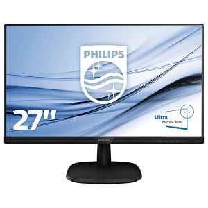 "Купить 27.0""  PHILIPS IPS LED 273V7QDAB Glossy Black (5ms, 10M:1, 250cd, 1920x1080, HDMI, DVI, Speakers,)"