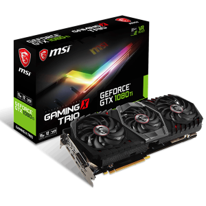 Купить MSI GeForce GTX 1080Ti GAMING X TRIO (MSI_1080Ti_GAMINGX_TRIO)