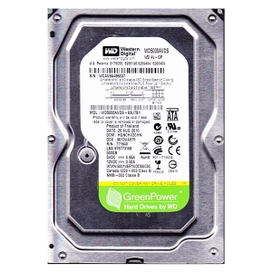 "Купить 3.5"" HDD 500GB  Western Digital WD5000AVDS  AV-GP"