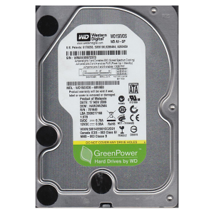 "Купить 3.5"" HDD 1.5TB  Western Digital WD15EVDS  AV-GP"