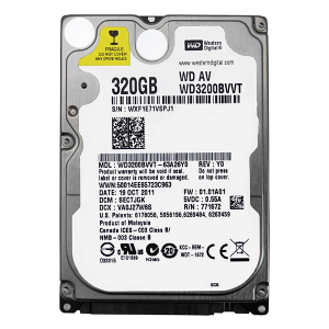"Купить 2.5"" HDD 320GB  Western Digital WD3200BVVT AV"
