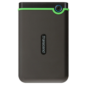 "Купить 2.5"" External HDD 500GB (USB3.0)  Transcend StoreJet 25M3 (TS500GSJ25M3), Iron Gray"
