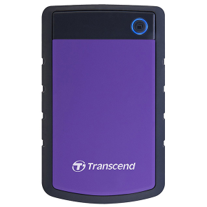 "Купить 2.5"" External HDD 2.0TB (USB3.0) Transcend StoreJet 25H3P (TS2TSJ25H3P), Purple/Black"