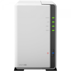 Купить 2-bay NAS Server  Synology DS216j