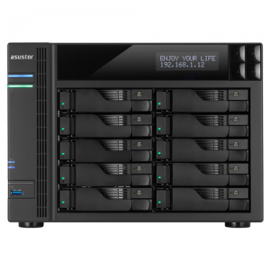 "Купить 10-bay NAS Server  ASUSTOR ""AS6210T"""