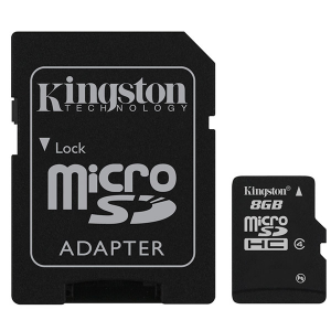 Купить Kingston 8GB microSDHC (SDC4/8GB)