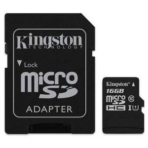 Купить Kingston 16GB microSDHC (SDCS/16GB)