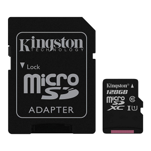 Купить Kingston 128GB microSDXC (SDC10G2/128GB)
