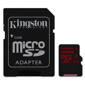 Купить Kingston 128GB microSDXC (SDCA3/128GB)