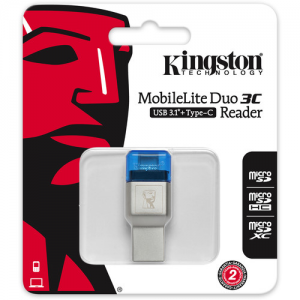Купить Card Reader Kingston MobileLite Duo 3C FCR-ML3C