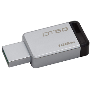 Купить 128GB USB3.1 Kingston DataTraveler 50 Silver/Black