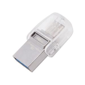 Купить 16GB USB3.1 Kingston DataTraveler MicroDuo 3C, Ultra-small, USB OTG Type C (On-The-Go)