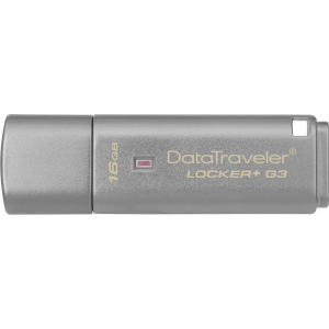 Купить 16GB USB3.0 Kingston DataTraveler Locker+ G3, Silver