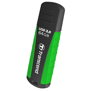Купить 64GB USB 3.0 Transcend JetFlash 810 Black/Green