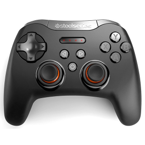 Купить STEELSERIES Stratus XL / Wireless Game Controller for Windows & Android, 2xAA battery power, Bluetooth, Black (SS-69050)