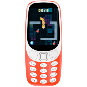 Купить Nokia 3310 DS, Red