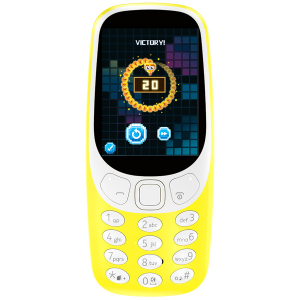 Купить Nokia 3310 DS, Yellow