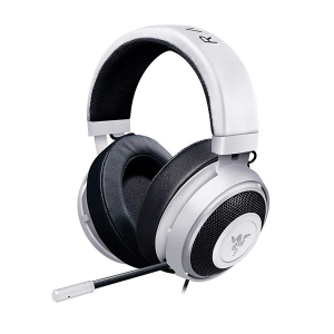 Купить RAZER Kraken Pro V2 Oval (White), 1.3+2 m detachable cables, 3.5 mm combined jack (RZ04-02050500-R3M1)