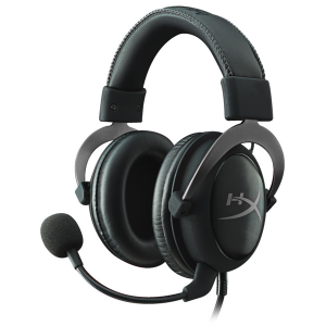 Купить KINGSTON HyperX Cloud II Headset, Metal, 1m+2m extension, 3.5 jack (KHX-HSCP-GM)