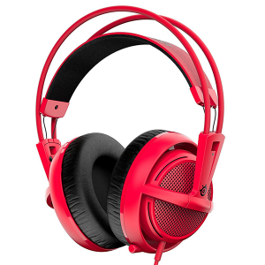 Купить STEELSERIES Siberia 200, 1.8 m, 3.5mm jack, Forged Red (SS-51135)