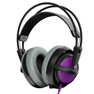 Купить STEELSERIES Siberia 200, 1.8 m, 3.5mm jack, Sakura Purple (SS-51136)