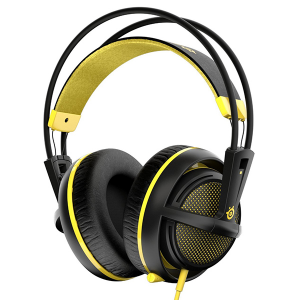 Купить STEELSERIES Siberia 200, 1.8 m, 3.5mm jack, Yellow (SS-51138)