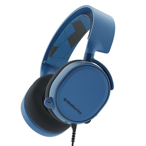 Купить STEELSERIES Arctis 3, 3.0m, 3.5mm jack, Boreal Blue (SS-61436)