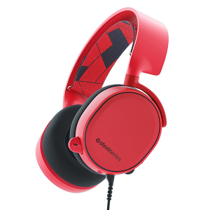 Купить STEELSERIES Arctis 3, 3.0m, 3.5mm jack, Solar Red (SS-61435)