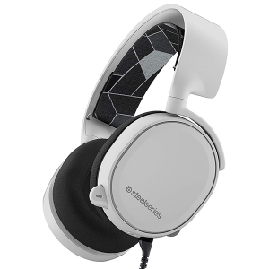 Купить STEELSERIES Arctis 3, 3.0m, 3.5mm jack, White (SS-61434)