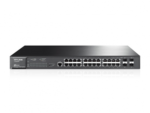 Купить PoE+ Switch TP-LINK TL-SG3424P