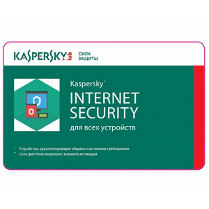 Купить Renewal - Kaspersky Internet Security Multi-Device - 1 device, 12 months, Card (KIS1_Renewal)